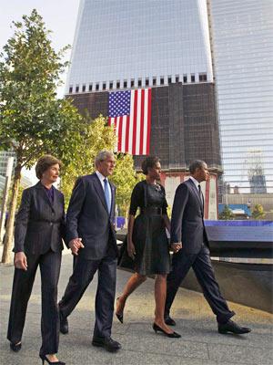 bush e obama (Foto: Reuters)