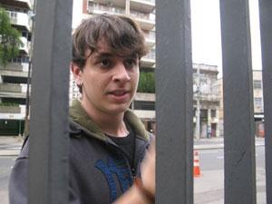 João Vítor (Foto: Thamine Leta/G1)