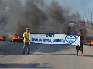 Lombada foi substituída por um radar de controle de velocidade (Foto: Walter Paparazzo/G1)
