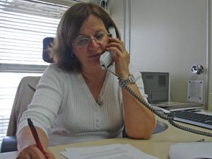 Maria Inês Fornazaro  (Foto: Roney Domingos/ G1 )