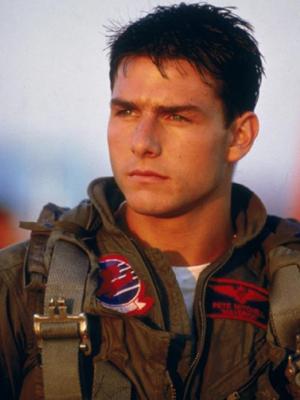 Tom Cruise em cena de 'Top gun' (Foto: Divulgação)