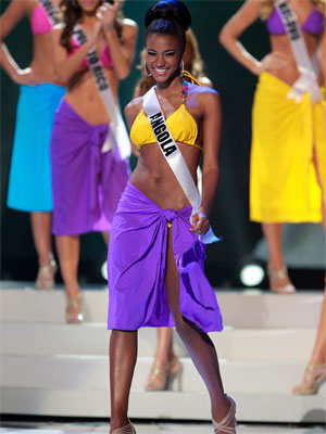 Miss Angola (Foto: Reuters)