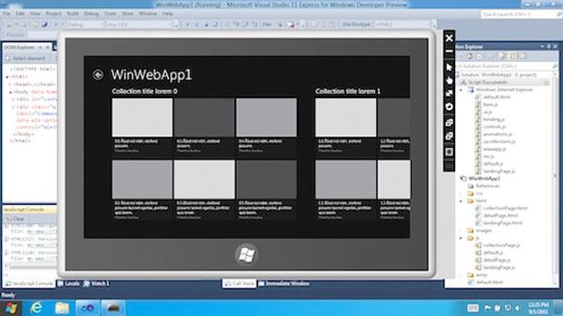 Com programa aberto, em visual mais tradicional: barra inferior manteve aparência já usada no Windows 7, mas botão 'Iniciar' mudou de cor. (Foto: Reprodução)