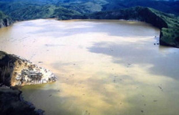 Lago Nyos  (Foto: BBC)