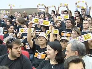 Presidente da Câmara acredita que pressão popular influenciou vereadores (Foto: Reprodução RPC TV)