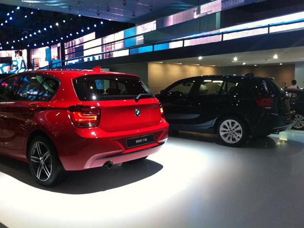 Série 1 - BMW (Foto: Priscila Dal Poggetto/G1)