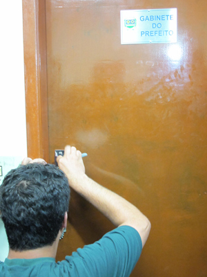 chaveiro jandira (Foto: Letícia Macedo/G1)