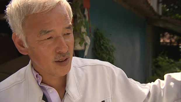 O agricultor Naoto Matsumura (Foto: BBC)