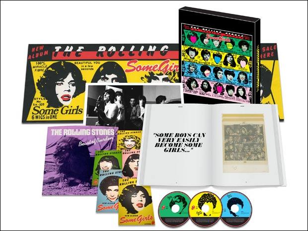 A superedição de luxo do álbum 'Some girls', dos Stones, originalmente lançado em 1978 (Foto: Divulgação)