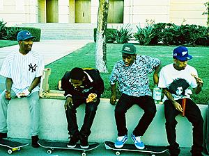 O coletivo de hip-hop Odd Future (Foto: Divulgação)