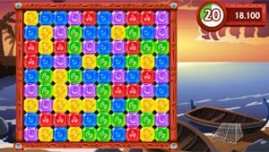 'Diamond Rush' é game viciante (Foto: Reprodução)