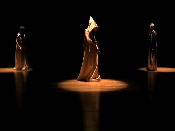 """O texto de """"Quê Onde"""" é do contista e dramaturgo Samuel Beckett. (Foto: Divulgação/Goiânia Ouro)"""