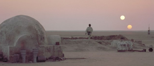 Tatooine é um dos mundos que abriga as ações da série 'Guerra nas Estrelas'. (Foto: Divulgação)