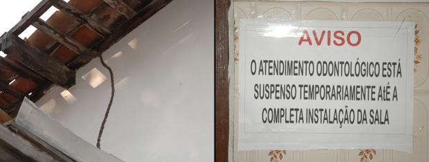 USF tinha cupim e consultório de odontologia estava desativado (Foto: Divulgação/MPPB)