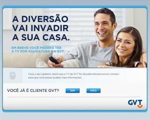 GVT lançou serviço de TV por assinatura com aposta em vídeos com alta definição (Foto: Reprodução)