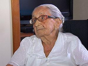 Dona Canô completa 104 anos (Foto: Reprodução/TV Bahia)