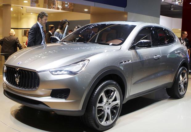 Mserati Kubang é o primeiro SUV da marca italiana (Foto: AP)