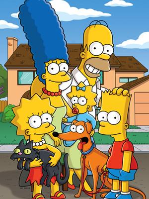 A família de 'Os Simpsons' (Foto: Divulgação)
