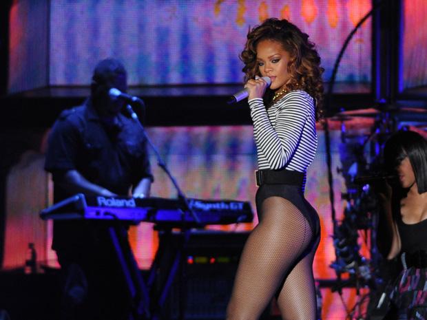 Rihanna; sp (Foto: Raul Zito/G1)
