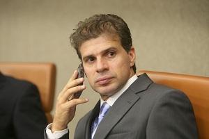 Jogador Túlio Maravilha (PMDB) renunciou ao cargo de vereador de Goiânia. (Foto: Diomício Gomes/O Popular)