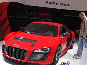 Audi R8 e-tron (Foto: Reuters)