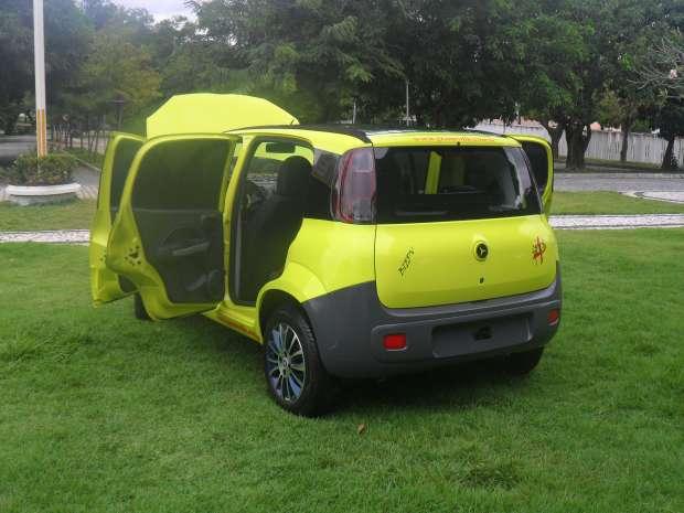 Carro foi desenvolvido a partir de modelo nacional, em pesquisa que durou 10 anos  (Foto: Gram Eollic/Divulgação)