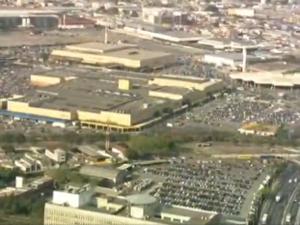 Shopping Center Norte tem sido multado pela Cetesb (Foto: Reprodução/TV Globo)