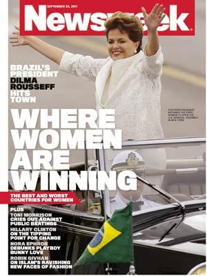 Com Dilma na capa, revista dá destaque para reportagens sobre a situação da mulher no mundo (Foto: Divulgação)