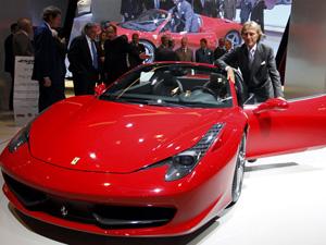 Ferrari 458 Spider (Foto: Reuters)