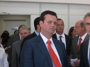 Gilberto Kassab participa de evento em SP (Foto: Juliana Cardilli/G1)