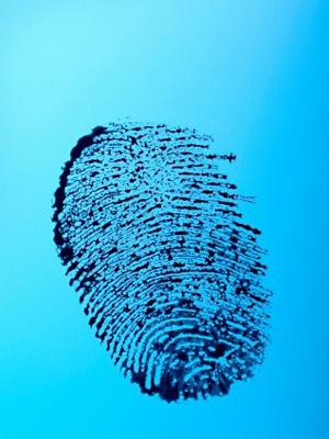 Impressões digitais são marcas exclusivas de cada pessoa ou gêmeos idênticos. (Foto: Howard Bartrop / Image Source / AFP Photo)
