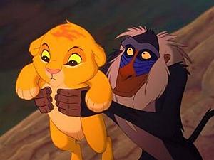 Imagem de 'O rei leão' (Foto: Divulgação)