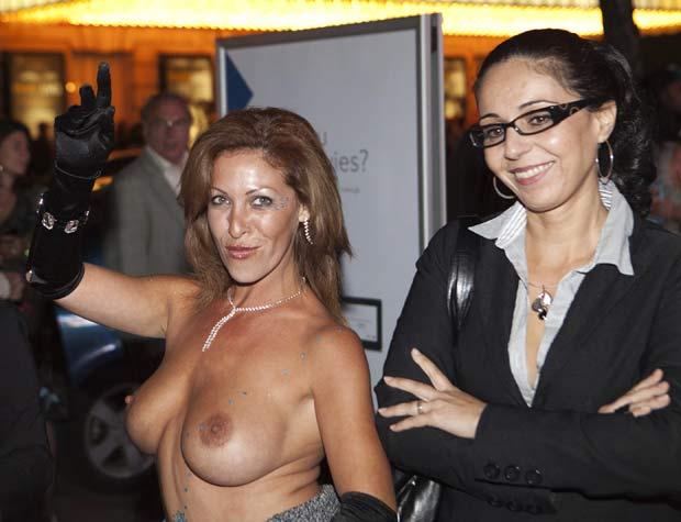 Cena ocorreu durante a 36ª do Festival de Cinema de Toronto. (Foto: Mark Blinch/Reuters)
