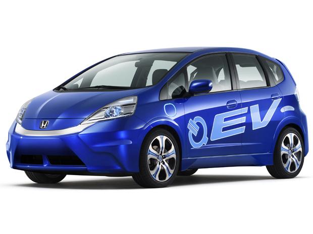 Utilizando plataforma do Fit, o EV Concept tem motor elétrico (Foto: Divulgação)