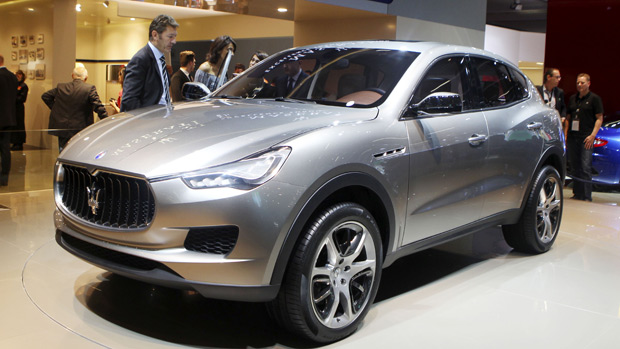 Maserati traz seu primeiro uilitário esportivo; veja vídeo (AP)