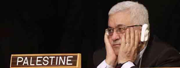 O presidente da Autoridade Palestina, Mahmoud Abbas, assiste ao discurso de Obama na Assembleia Geral da ONU nesta quarta-feira (21) (Foto: AP)