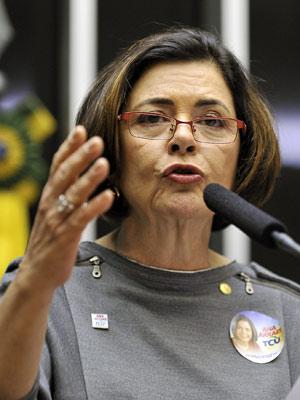 A deputada Ana Arraes, escolhida para ser ministra do Tribunal de Contas da União (TCU) (Foto: Agência Câmara)