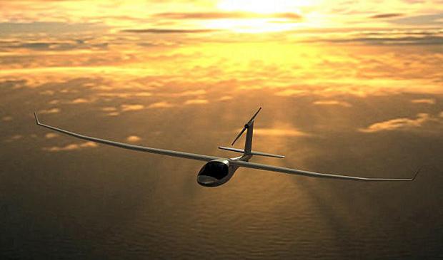 O e-Genius é um modelo de avião que usa energia elétrica (Foto: e-Genius team/Eric Raymond)