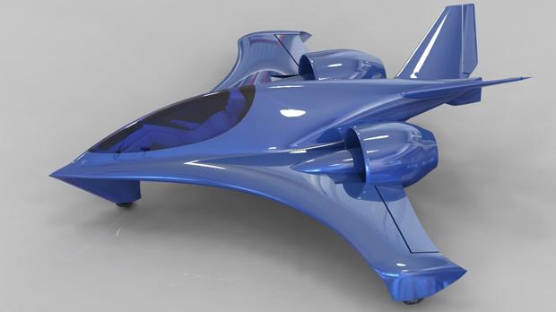 O avião Seraph usa uma tecnologia experimental (Foto: IKE Aerospace)
