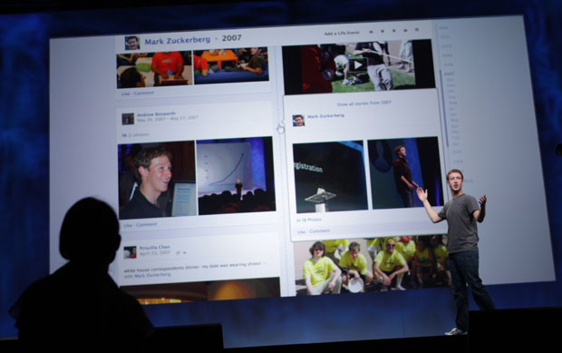 Mark Zuckerberg, CEO e criador do Facebook, apresenta novidades da rede social durante evento f8 (Foto: Robert Galbraith/Reuters)