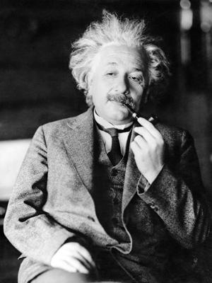A física moderna de Albert Einstein terá de ser revista com a quebra da velocidade da luz (Foto: AP Photo)