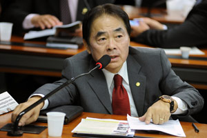Deputado Takayama, do PSC do Paraná (Foto: Agência Câmara)