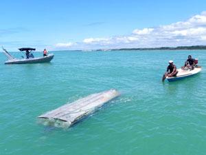 Parentes de italiano desaparecido no mar chegam a Porto Seguro, na Bahia (Foto: Thaís Melo/ Arquivo Pessoal)