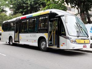 novo ônibus brs prefeitura rj (Foto: Prefeitura do Rio/Divulgação)