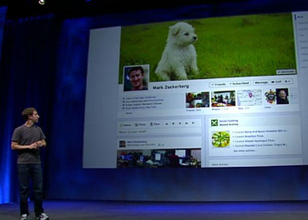 Mark Zuckerberg apresenta novidades do Facebook no evento 'f8', realizado em San Francisco, nos EUA (Foto: Reprodução)