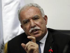 O ministro das Relações Exteriores da Palestina Riyad al-Malki refutou diálogo com Israel. (Foto: Mohamed Torokman / Reuters)