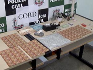 Jovens de classe média são presos por tráfico de droga sintética no DF (Foto: Reprodução/TV Globo)