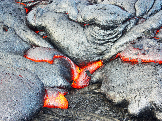 Vulcão Kilauea 2 (Foto: ©Steve and Donna O'Meara / VolcanoHeaven.tumblr.com)