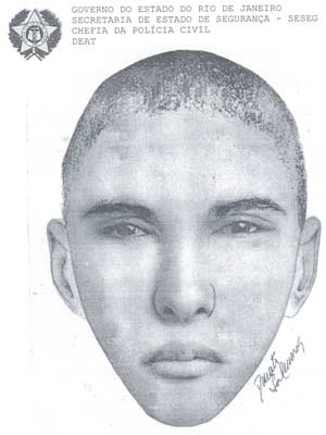 Retrato Falado (Foto: Divulgação/Polícia Civil)