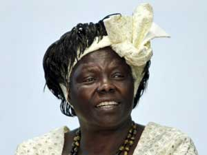 Wangari Maathai, em foto de arquivo de março de 2010. (Foto: Reuters)